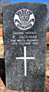 Percy Jackman at Johannesburg (West Park) Cemetery