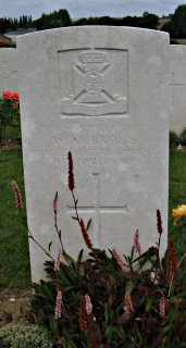 William Ambrose at Wancourt British Cemetery, Arras