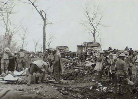Advanced Dressing Station near Ypres