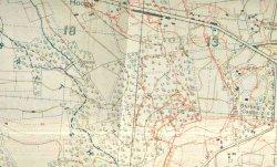 British Front Line near Hooge in April 1916