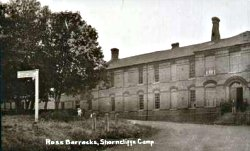 Barracks at Shorncliffe Camp
