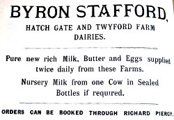 Hatch Gate Farm Advertisment